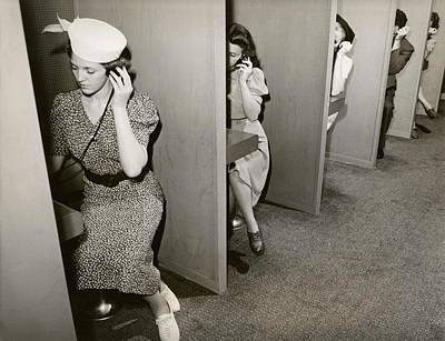 Subject Photograph - Women Taking Hearing Tests by New York World's Fair/new York Public Library