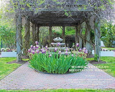 Photograph - Women Vietman Veterans Meditation Garden by Gary Slawsky