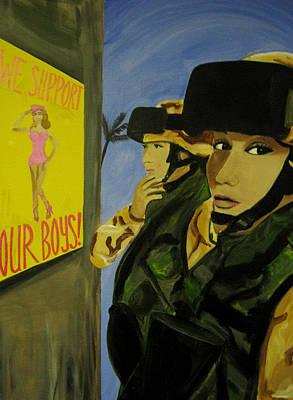Caravaggio - Women Warriors and the Pinup by Michelle Dallocchio