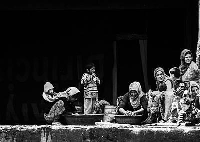 Washing Photograph - Women Washing by Faruk Uslu