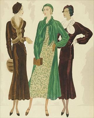 Velvet Digital Art - Women Wearing Velvet by William Bolin