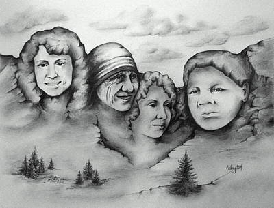 Concord Drawing - Women Who Rock by Catherine Howley