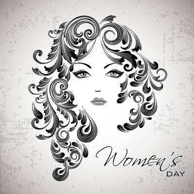 Digital Art - Women's Day Usa by Stanley Mathis