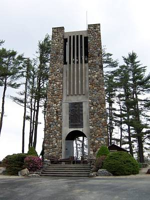 Womens Memorial Bell Tower Art Print by Catherine Gagne