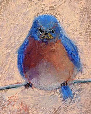 Wonder Bird Original by Billie Colson
