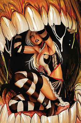 Books Drawing - Wonderalnd 06a by Zenescope Entertainment