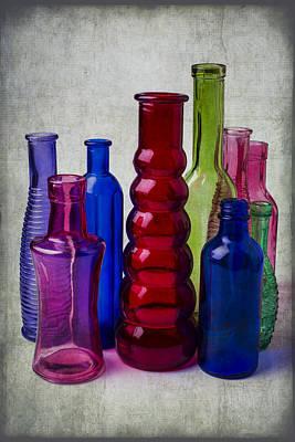 Wonderful Glass Bottles Art Print