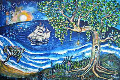 Key West Painting - Wonderful Grace Of Jesus by Abigail White