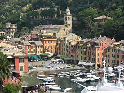 Portofino Harbour Photograph - Wonderful Portofino by Christine Huwer