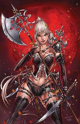 Comics Drawing - Wonderland 05c by Zenescope Entertainment