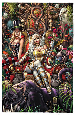 Mad Hatter Digital Art - Wonderland 10a by Zenescope Entertainment