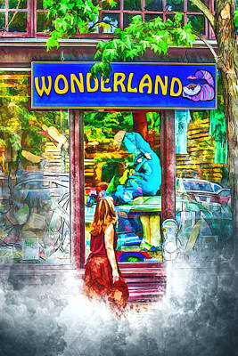 Photograph - Wonderland by John Haldane