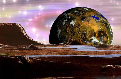 Wonders Of The Universe Art Print by Mario Carini