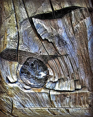 Photograph - Wood 8812 by Walt Foegelle