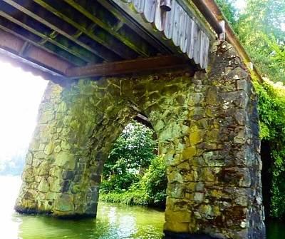 Photograph - Wood And Timber Bridge by Susan Garren
