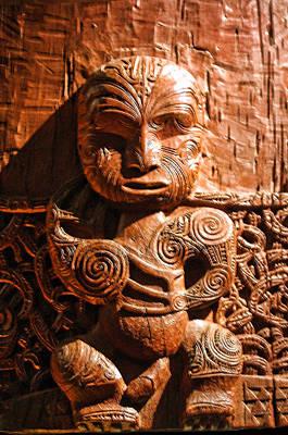 Wood Carving Of Single Figure Original