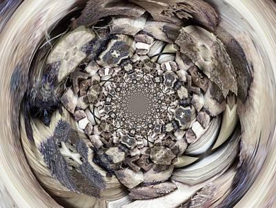 Digital Art - Wood Digi Manip 40 by Gene Cyr