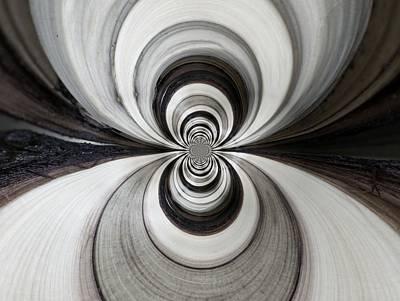 Digital Art - Wood Digi Manip 41 by Gene Cyr