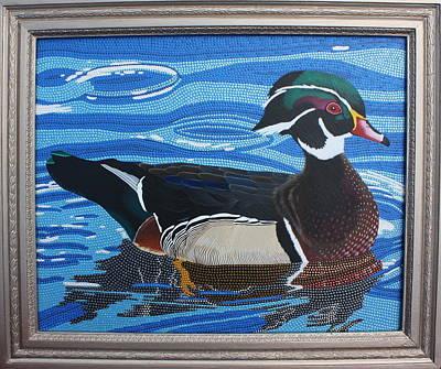 Painting - Wood Duck by Amanda  Lynne