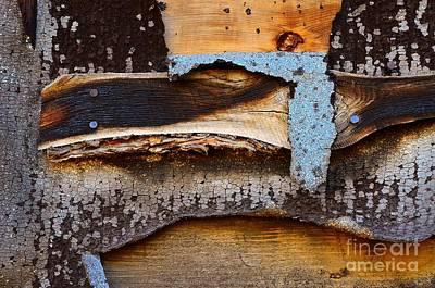 Balck Art Photograph - Wood Eagle Totem by Lauren Leigh Hunter Fine Art Photography