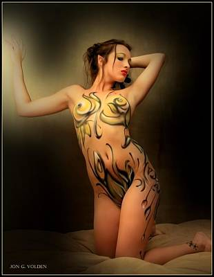 Photograph - Wood Nymph by Jon Volden