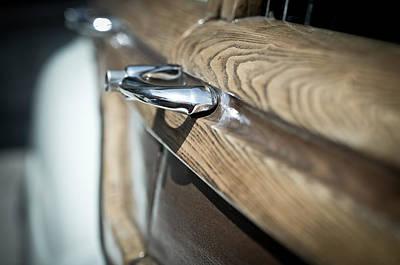 Photograph - Wood Panel by Erin Kohlenberg