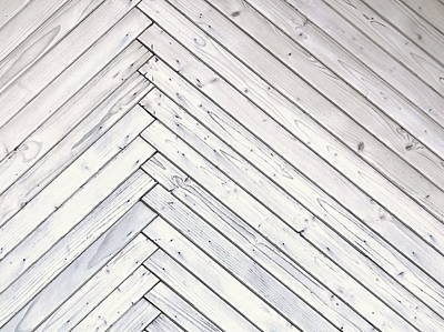Wood Paneling With Thin Plates Illustration Art Print by Jozef Jankola