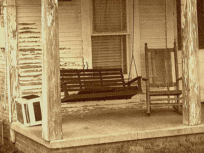Porch Swingers Original by ARTography by Pamela Smale Williams
