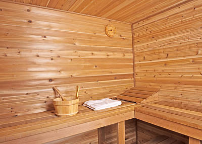 Photograph - Wood Sauna by Marek Poplawski