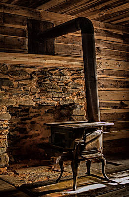 Wood Stove Art Print by Dave Bosse