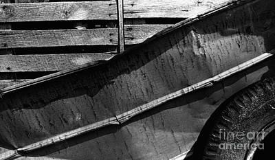 Photograph - Wood Tin Tire by Tom Brickhouse
