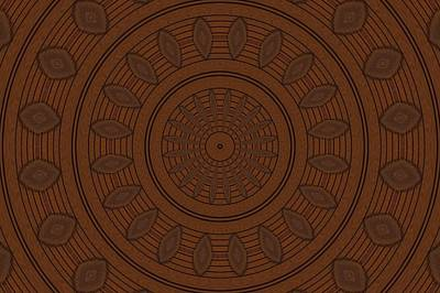 Digital Art - Wood Tone by Richard Zentner