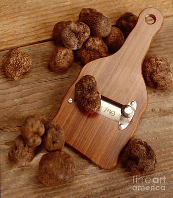 Photograph - Wood Truffle Slicer by Iris Richardson
