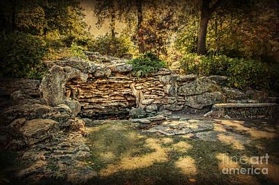 Photograph - Woodard Park Koi Pond by Tamyra Ayles