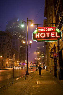 Winnipeg Photograph - Woodbine by Bryan Scott