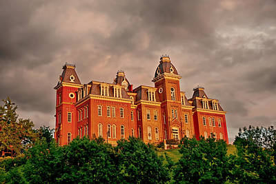 Woodburn Hall Photograph - Woodburn Hall After The Storm by Dusty Phillips