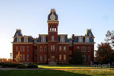 Art Print featuring the photograph Woodburn Hall Late Afternoon Sun by Dan Friend