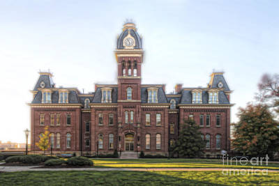 Photograph - Woodburn Hall Paintography by Dan Friend