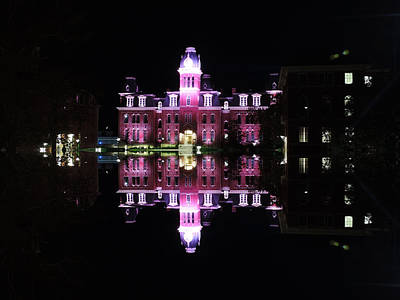 Woodburn Hall Photograph - Woodburn Hall Reflection by Cityscape Photography