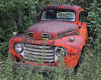 Art Print featuring the photograph Wooded Ford by Christopher McKenzie
