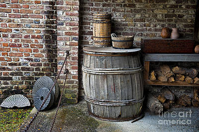 Photograph - Wooden Barrel by David Arment