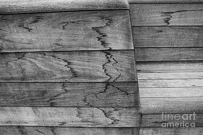 Woden Wall Art - Photograph - Wooden Bench by Brothers Beerens