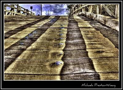 Photograph - Wooden Bridge by Michaela Preston