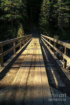 Photograph - Wooden Bridge by Sue Smith