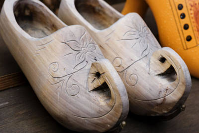 Photograph - Wooden Clogs by Juli Scalzi