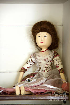 Wood Necklace Photograph - Wooden Doll by Margie Hurwich