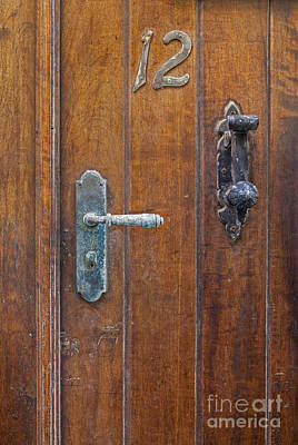 Photograph - Wooden Door In Old San Juan by Bryan Mullennix