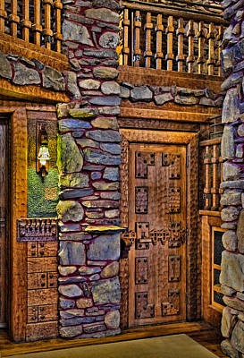 Photograph - Wooden Door by Susan Candelario