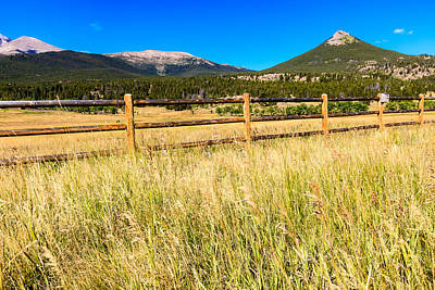Photograph - Wooden Fence by Ben Graham