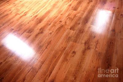 Nails Photograph - Wooden Floor by Michal Bednarek